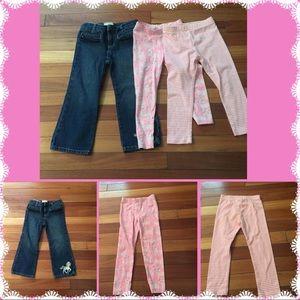 🆕 3T Girls Pants/Leggings Bundle